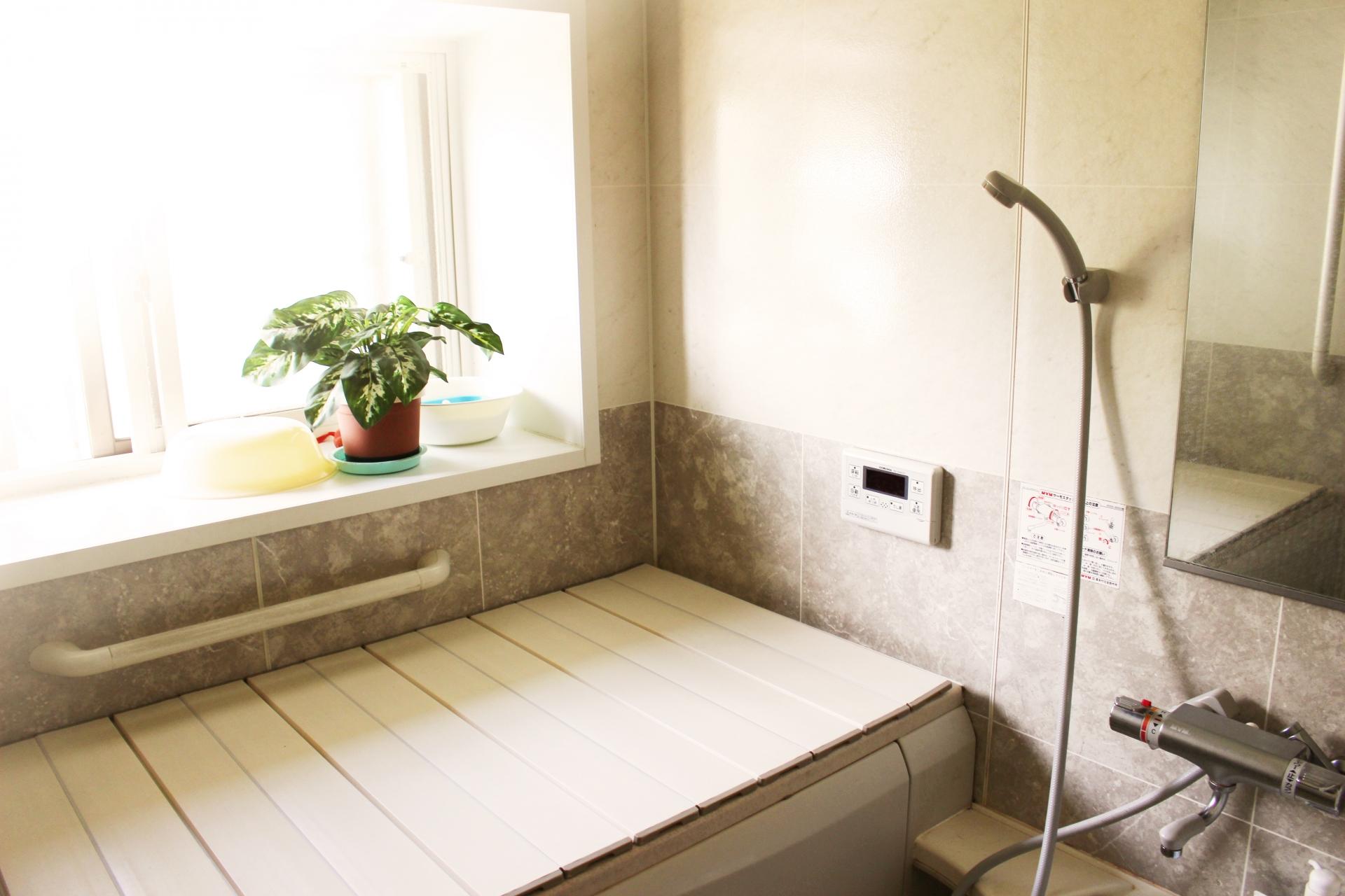 お風呂場のカビ予防
