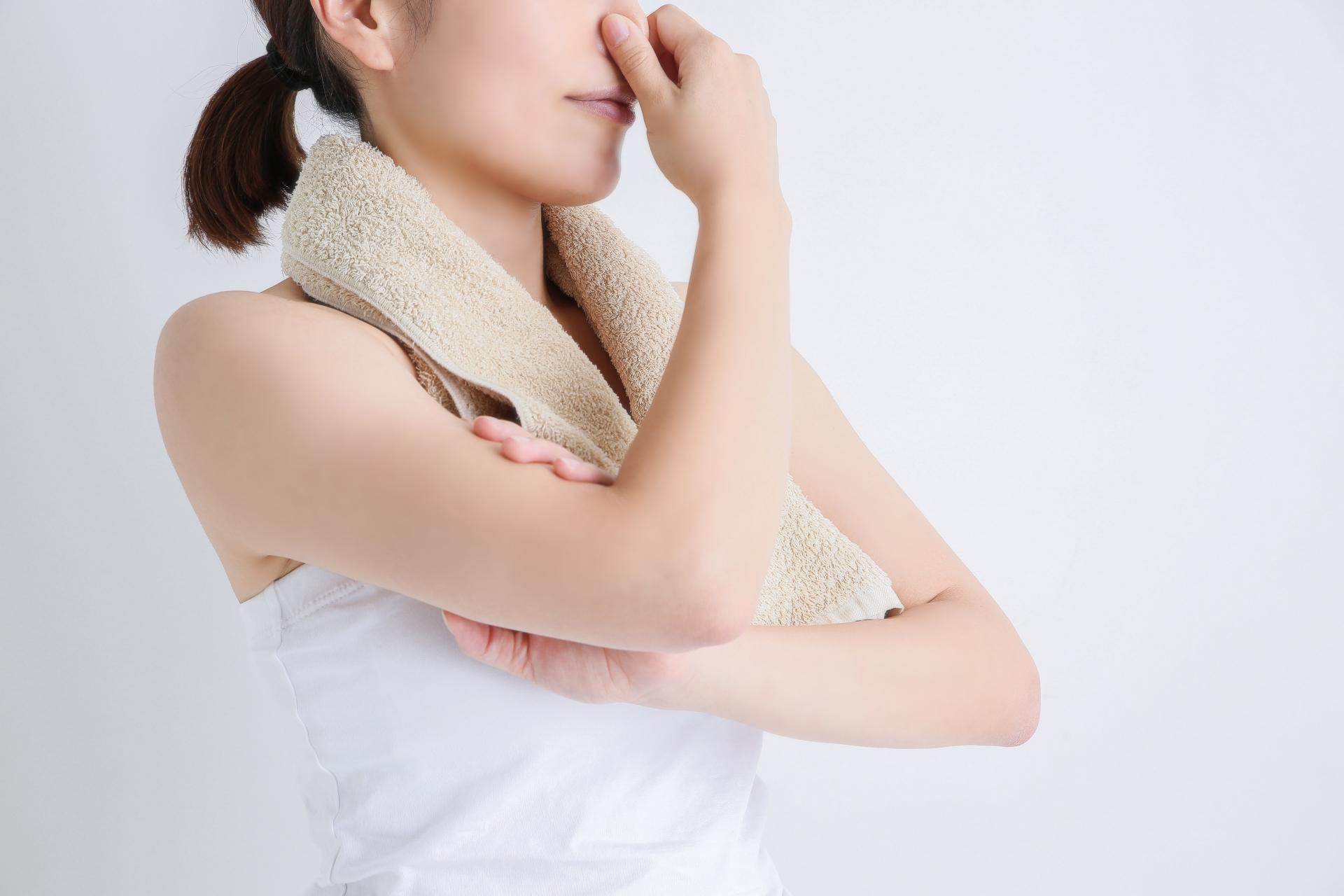体の洗いすぎは体臭の原因に?